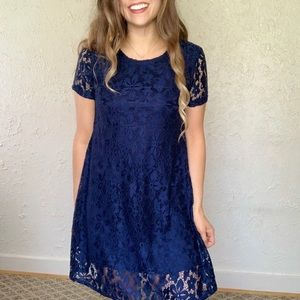 Lace City Triangles Dress